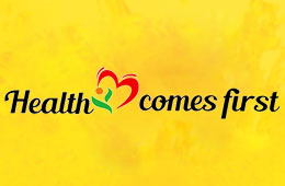 Health Comes First Logo